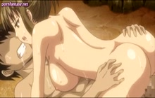 Huge boobed Hentai girl fucked and creampied