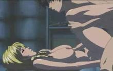 Sexy hentai student gets fucked hard