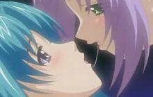 Hentai lesbian couple
